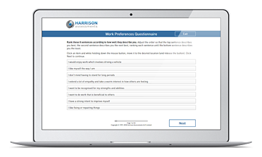 Talent Management | Smart Questionnaire | Harrison Assessments
