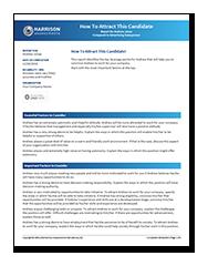 Talent Management Sample Reports Harrison Assessments
